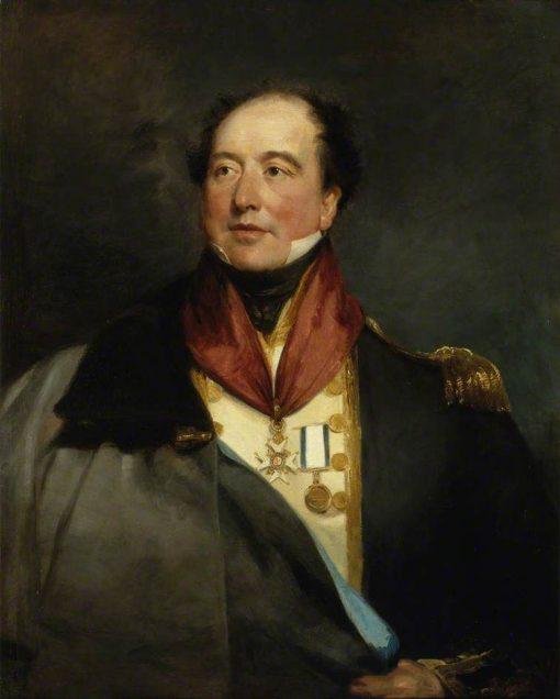 Captain Sir Christopher Cole | Margaret Sarah Carpenter | Oil Painting