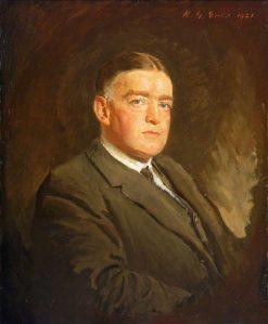 Sir Ernest Henry Shackleton (1874-1922)   Reginald Grenville Eves   Oil Painting