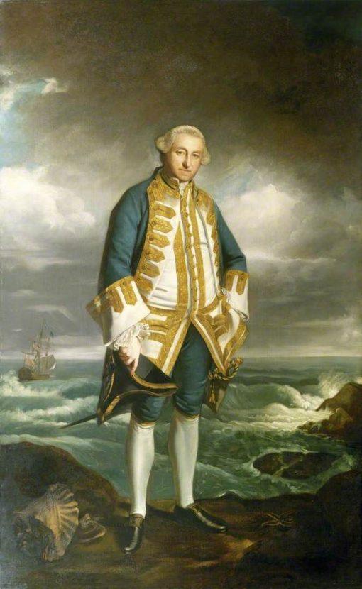 Admiral Edward Boscawen (1711-1761)   Sir Joshua Reynolds   Oil Painting