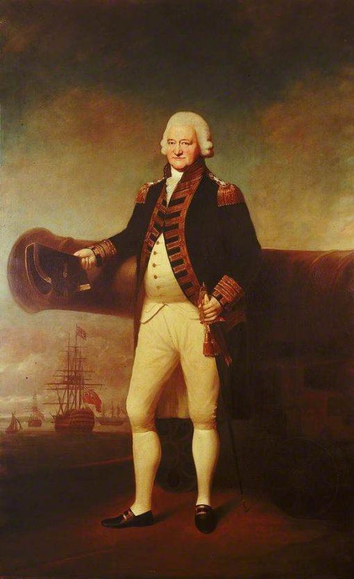 Admiral Sir Charles Saunders | Sir Joshua Reynolds | Oil Painting