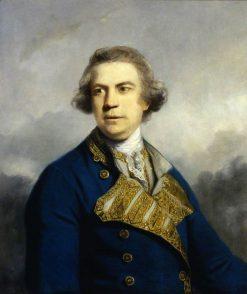 Admiral Augustus Keppel (1725-1786) | Sir Joshua Reynolds | Oil Painting