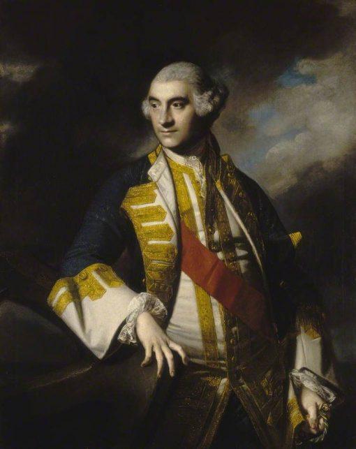 Admiral Sir Charles Saunders   Sir Joshua Reynolds   Oil Painting