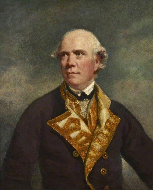 Admiral the Honourable Samuel Barrington | Sir Joshua Reynolds | Oil Painting