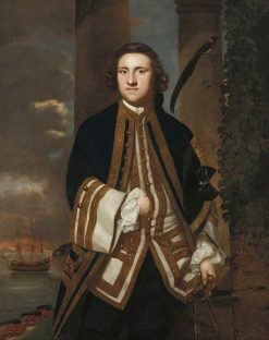 Captain Honourable George Edgcumbe (1720-1795) | Sir Joshua Reynolds | Oil Painting