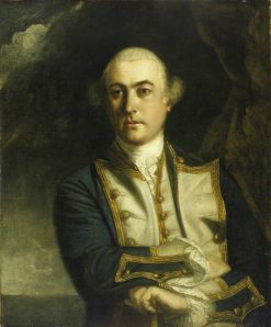 Captain the Honourable John Byron (1723-1786) | Sir Joshua Reynolds | Oil Painting