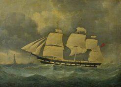 Ship under Sail   Stephen Dadd Skillett   Oil Painting