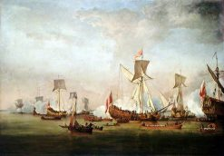 The Departure of William of Orange and Princess Mary for Holland