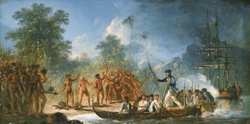 The Landing at Tanna (Tana)