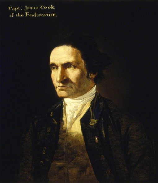 Captain James Cook (1728-1779)   William Hodges   Oil Painting