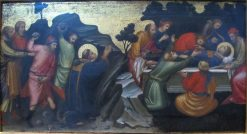 The Stoning of St. Stephen / The Burial of St. Stephen | Mariotto di Nardo | Oil Painting