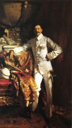 Sir Frank Swettenham | John Singer Sargent | Oil Painting