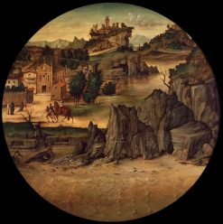 Landscape with Castle | Bartolomeo Montagna | Oil Painting
