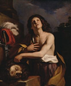 David with the Head of Goliath | Guercino | Oil Painting