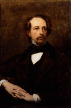 Charles Dickens | Ary Scheffer | Oil Painting