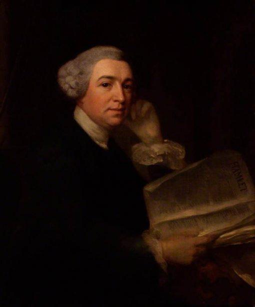 David Garrick | Benjamin Wilson | Oil Painting