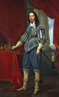 King Charles I | Daniel Mijtens | Oil Painting