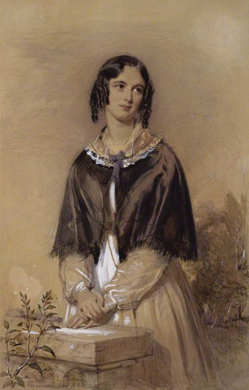 Charlotte Mary Yonge | George Richmond | Oil Painting