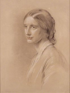 Josephine Elizabeth Butler (née Grey) | George Richmond | Oil Painting