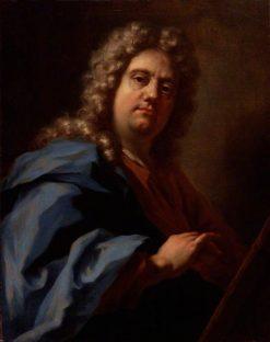 Self Portrait | Giovanni Antonio Pellegrini | Oil Painting