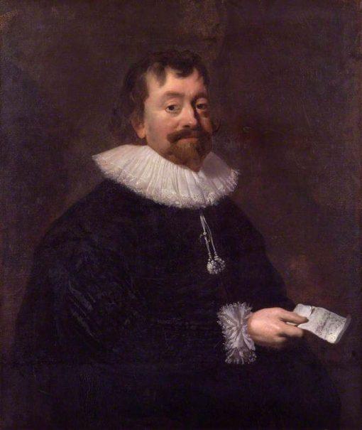 Sir Robert Phelips | Hendrick Pot | Oil Painting