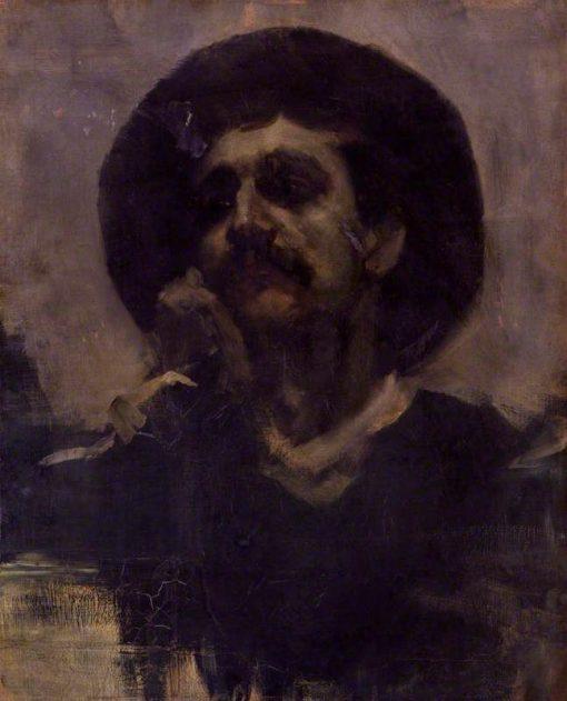 Self-Portrait | Henry Moore | Oil Painting