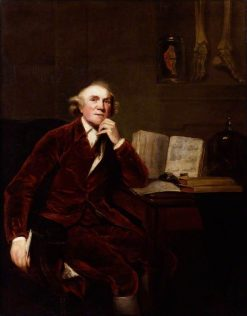 John Hunter (copy after an original of 1786 by Sir Joshua Reynolds) | John Jackson | Oil Painting