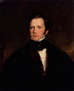 Frederick Marryat   John Philip Simpson   Oil Painting