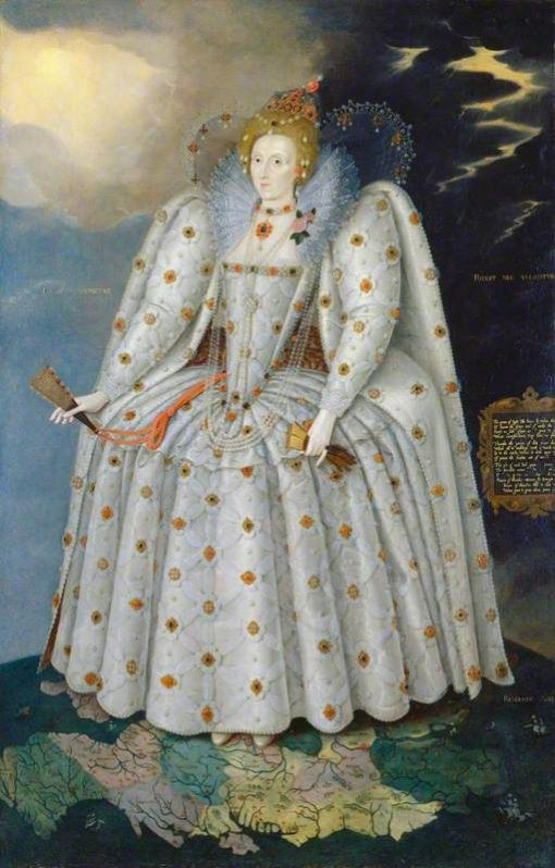 Elizabeth I (1533-1603) ('The Ditchley Portrait') | Marcus Gheeraerts the Younger | Oil Painting