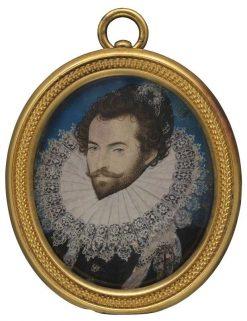 Sir Walter Raleigh | Nicholas Hilliard | Oil Painting