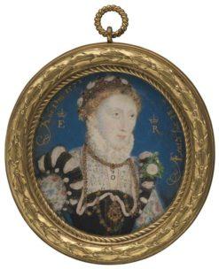 Queen Elizabeth I   Nicholas Hilliard   Oil Painting