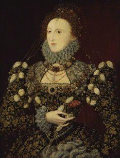 Elizabeth I | Nicholas Hilliard | Oil Painting