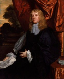 Abraham Cowley | Peter Lely | Oil Painting