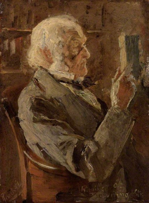 William Ewart Gladstone | Pierre Troubetzkoy | Oil Painting