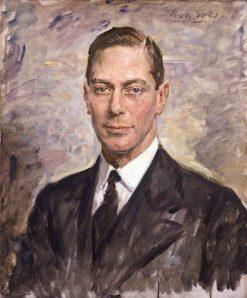 King George VI | Reginald Grenville Eves | Oil Painting