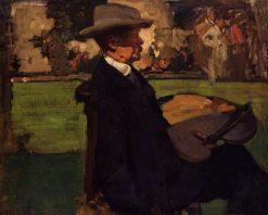Sir Alfred Edward East   Sir Frank William Brangwyn   Oil Painting