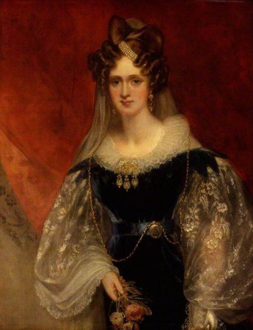 Adelaide Amelia Louisa Theresa Caroline of Saxe-Coburg Meiningen | Sir William Beechey | Oil Painting