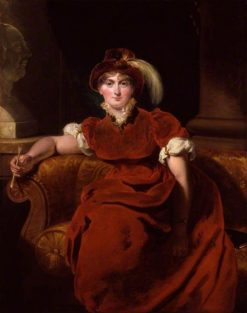 Caroline Amelia Elizabeth of Brunswick | Thomas Lawrence | Oil Painting