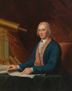 David Rittenhouse | Charles Willson Peale | Oil Painting