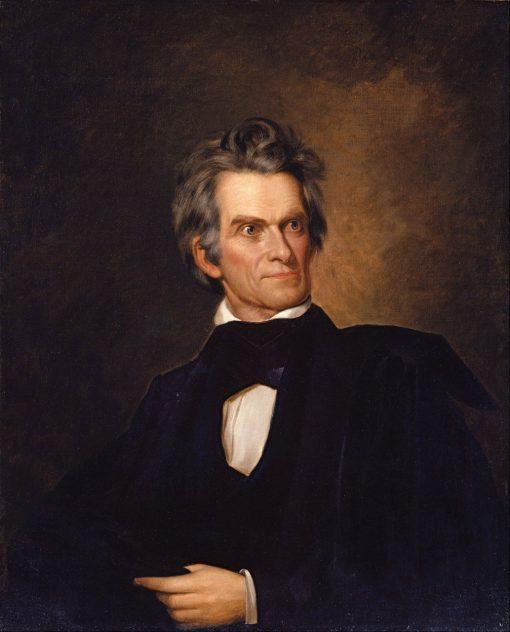 John C Calhoun | George Peter Alexander Healy | Oil Painting