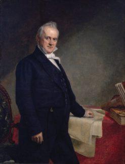 Portrait of James Buchanan | George Peter Alexander Healy | Oil Painting