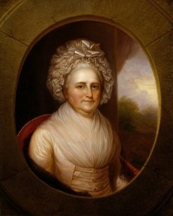 Martha Washington | Rembrandt Peale | Oil Painting