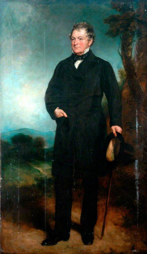 Sir Edmund Beckett (known as Edmund Denison) (1787-1874)