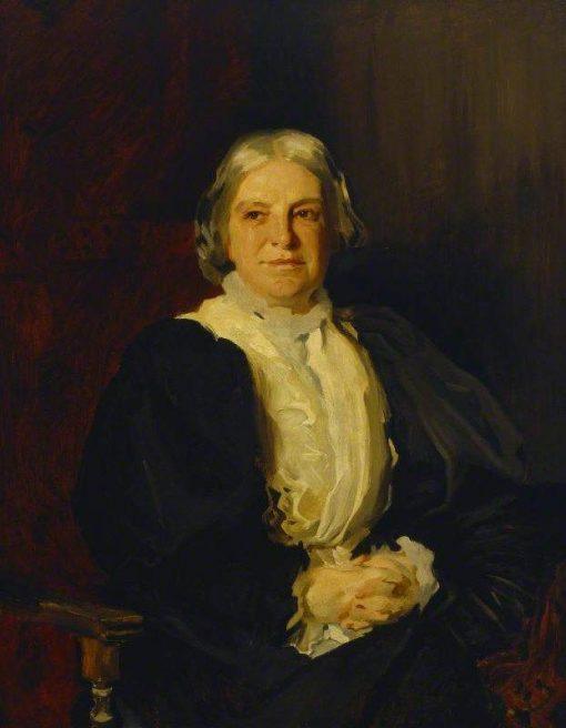 Dame Octavia Hill (1838-1912) after John Singer Sargent | Reginald Grenville Eves | Oil Painting