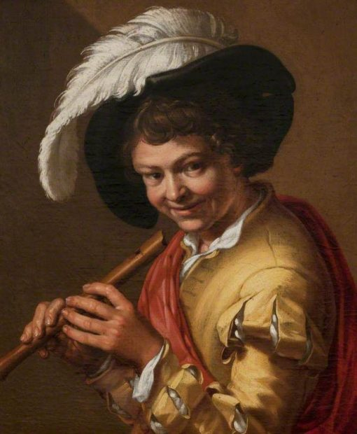 Boy with a Flute | Abraham Bloemaert | Oil Painting