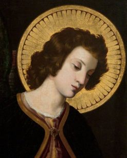 Angel of the Annunciation | Italian School th Century   Unknown | Oil Painting