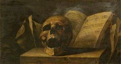 Vanitas | Salvator Rosa | Oil Painting