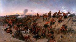 The Storming of Tel el Kebir | Alphonse Marie Adolphe de Neuville | Oil Painting