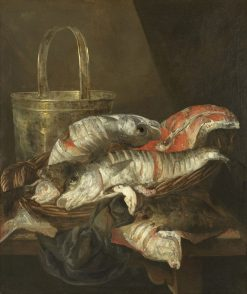 Still Life with Haddocks and Plaice | Abraham van Beyeren | Oil Painting