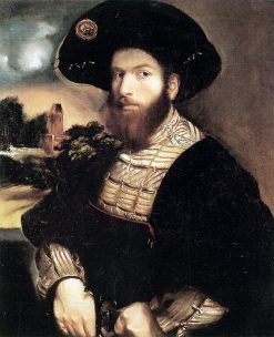 Portrait of a Man   Dosso Dossi   Oil Painting