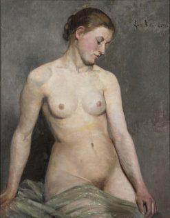 Nude (study) | Eva Fredrika Bonnier | Oil Painting